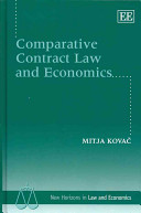 Comparative Contract Law and Economics