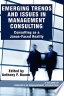 Emerging Trends and Issues in Management Consulting