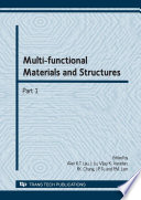 Multi functional Materials and Structures Book