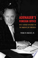 Adenauer s Foreign Office