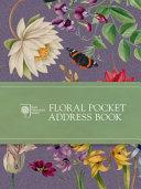 Royal Horticultural Society Floral Pocket Address Book