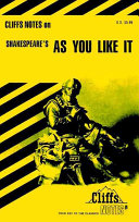 CliffsNotes on Shakespeare's As You Like It ebook