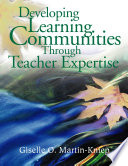 Developing Learning Communities Through Teacher Expertise Book PDF