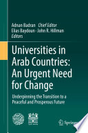 Universities in Arab Countries  An Urgent Need for Change