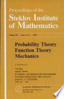 Probability Theory  Function Theory  Mechanics Book