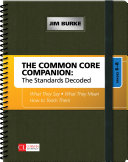 The Common Core Companion: The Standards Decoded, Grades 6-8