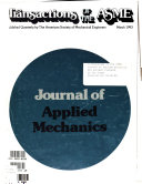 Journal of Applied Mechanics