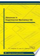 Advances in Experimental Mechanics VIII