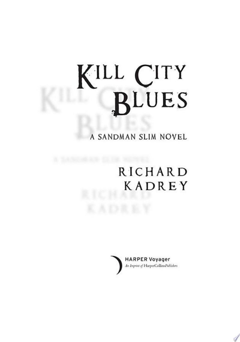 Kill City Blues image