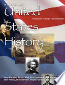 US History Revolution to Reconstruction   ADVANCE PREVIEW