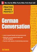 Practice Makes Perfect German Conversation Book