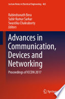 Advances in Communication  Devices and Networking