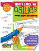 North Carolina Dailies  180 Daily Activities for Kids