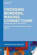 Crossing Borders  Making Connections