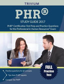 PHR Study Guide 2017