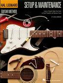 Hal Leonard Guitar Method Setup Maintenance Book PDF