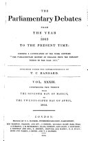 Pdf The Parliamentary Debates from the Year 1803 to the Present Time