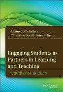 Engaging Students as Partners in Learning and Teaching Book