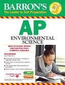 AP Environmental Science, 6th ed.