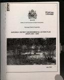 Karonga District Environmental Action Plan  DEAP  2001 2006