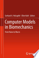 Computer Models In Biomechanics Book PDF