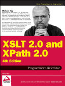 XSLT 2 0 and XPath 2 0 Programmer s Reference