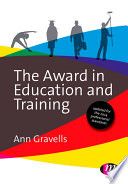 The Award In Education And Training Book PDF