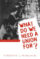 What Do We Need a Union For