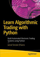 Learn Algorithmic Trading With Python Book PDF