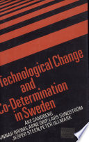 Technological Change And Co Determination In Sweden