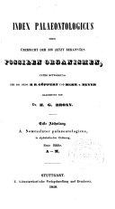 Index palaeontologicus