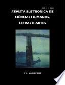 Revista Eletrônica de Ciências Humanas, Letras e Artes Nº 1