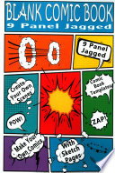 Blank Comic Book - 9 Panel Jagged