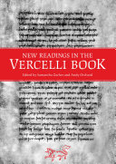 New Readings in the Vercelli Book Pdf/ePub eBook