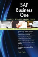 SAP Business One Complete Self Assessment Guide