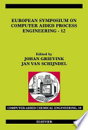 European Symposium On Computer Aided Process Engineering 12 Book PDF