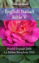 English Italian Bible V