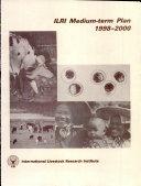 ILRI Medium term Plan 1998 2000