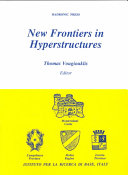New Frontiers in Hyperstructures