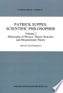 Patrick Suppes: Scientific Philosopher