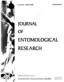 Journal of Entomological Research