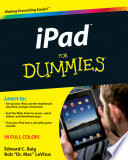 """iPad For Dummies"" by Edward C. Baig, Bob LeVitus"