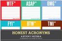 Honest Acronyms