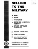 Selling to the Military