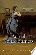 Actual Consciousness Book PDF
