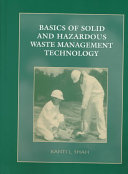 Basics of Solid and Hazardous Waste Management Technology Book