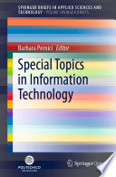 Special Topics in Information Technology