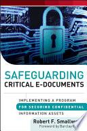 Safeguarding Critical E Documents Book