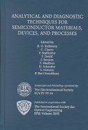 Analytical and Diagnostic Techniques for Semiconductor Materials  Devices and Processes