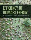 Efficiency of Biomass Energy
